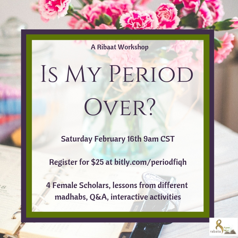 period workshop flier