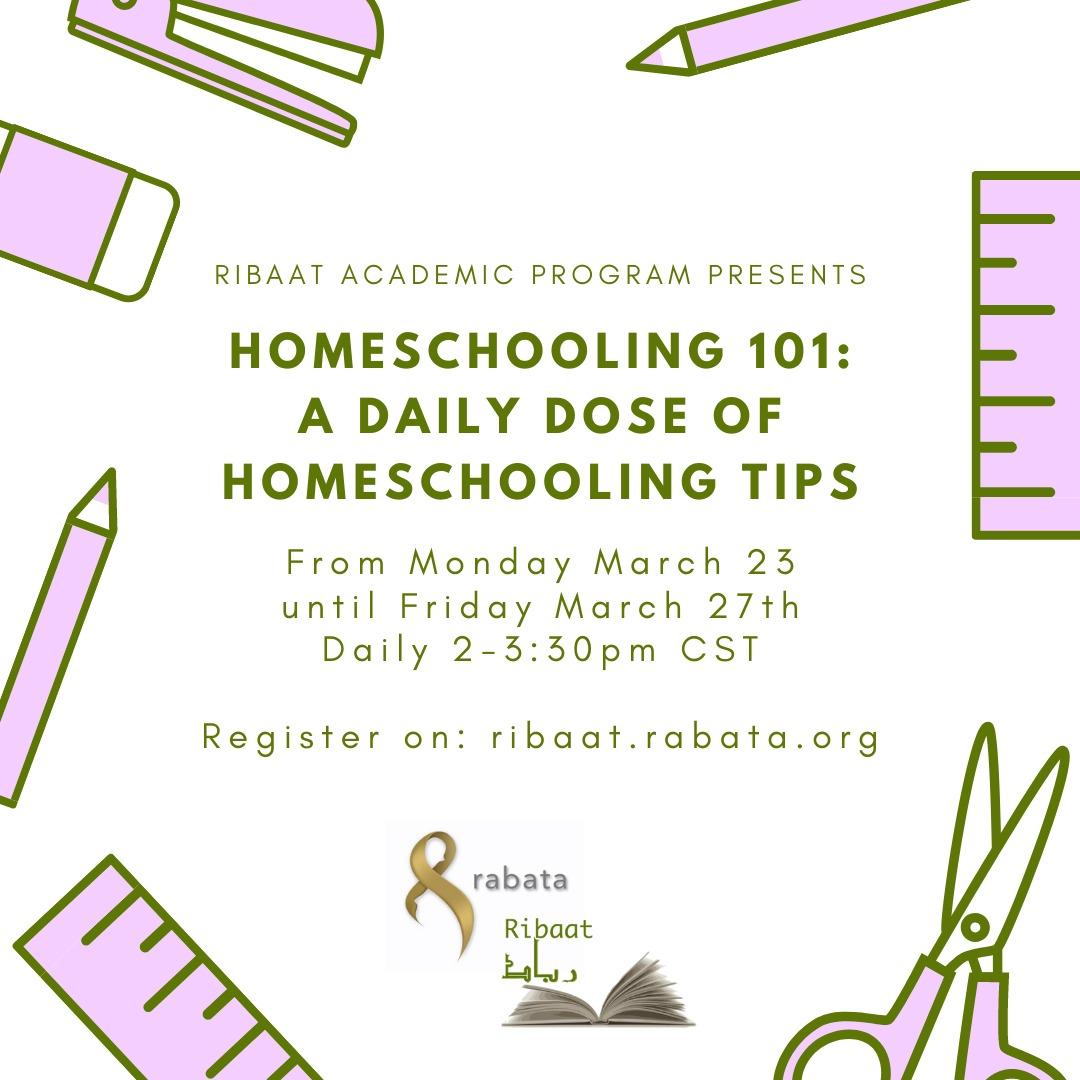 homeschooling flier